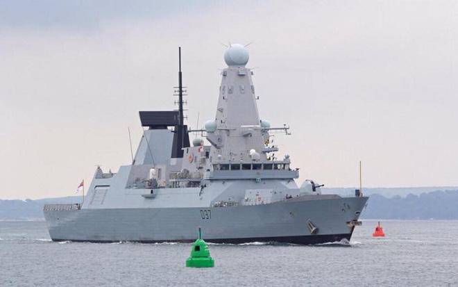 khu trục hạm hải quân anh HMS Duncan