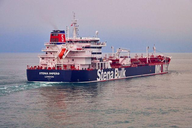 iran bắt giữ tầu chở dầu anh