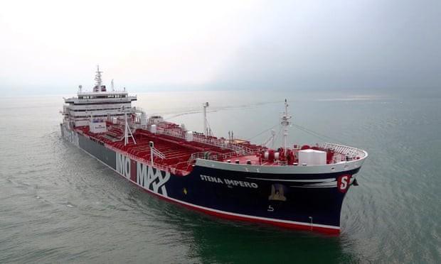tàu chở dầu Stena Impero