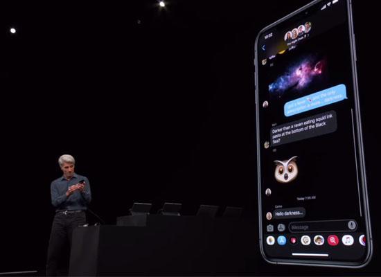 chế độ dark mode iphone ios 13