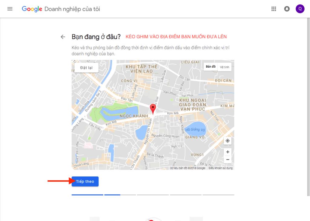 thêm địa chỉ kinh doanh lên google maps