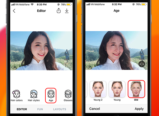 mobile app faceapp