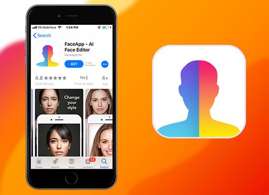 ứng dụng faceapp