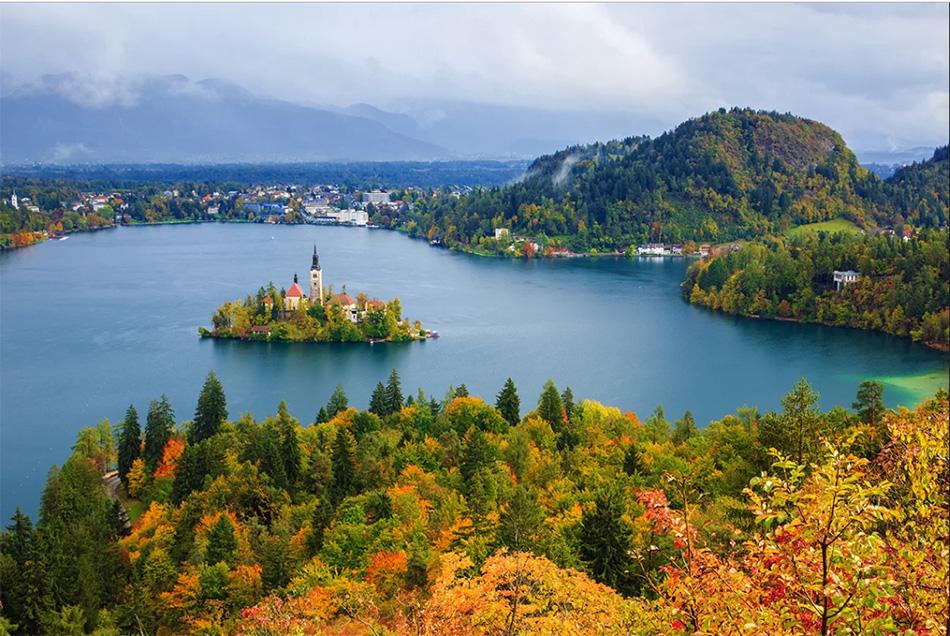 mùa thu ấn tượng ở slovenia