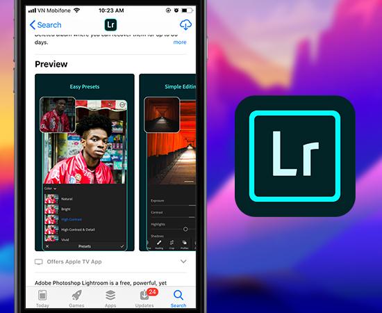 top 3 ứng dụng chỉnh sửa ảnh cho điện thoại iphone