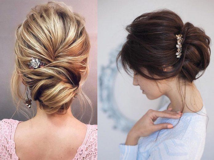 hướng dẫn các kiểu tóc búi rối cho cô dâu làm đẹp