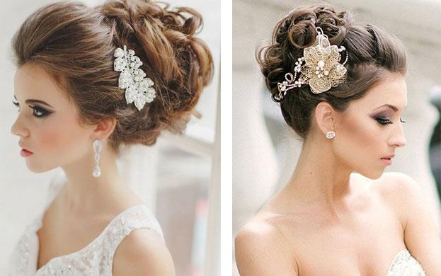 hướng dẫn búi tóc cô dâu thả lọn xoăn