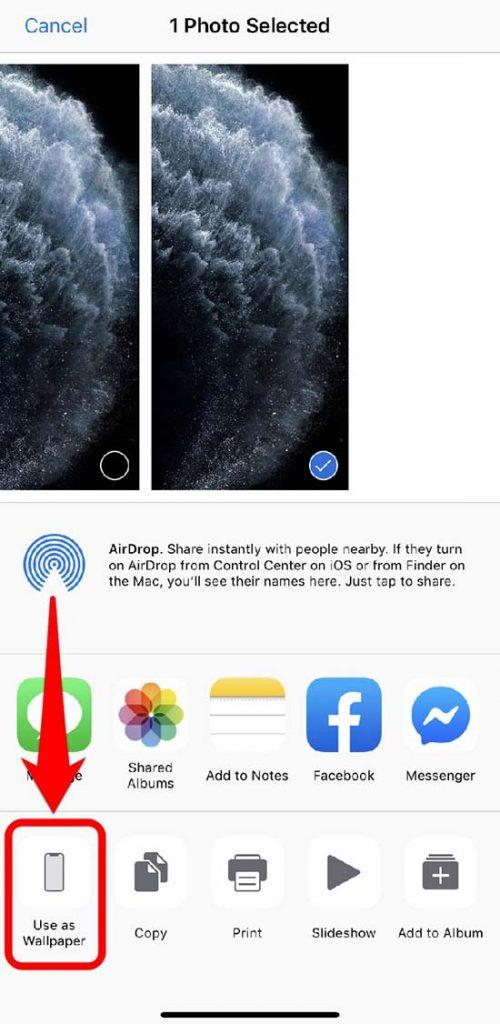 cách tải cài đặt bộ hình nền iphone 11 đẹp