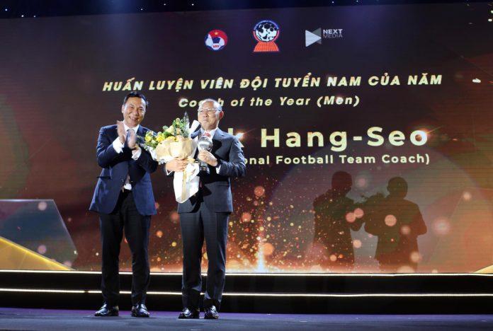 aff awards 2019 park hang seo