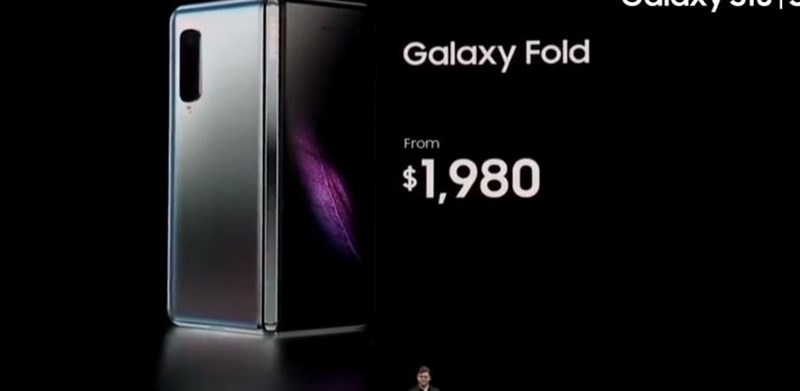 giá điện thoại Samsung Galaxy Fold