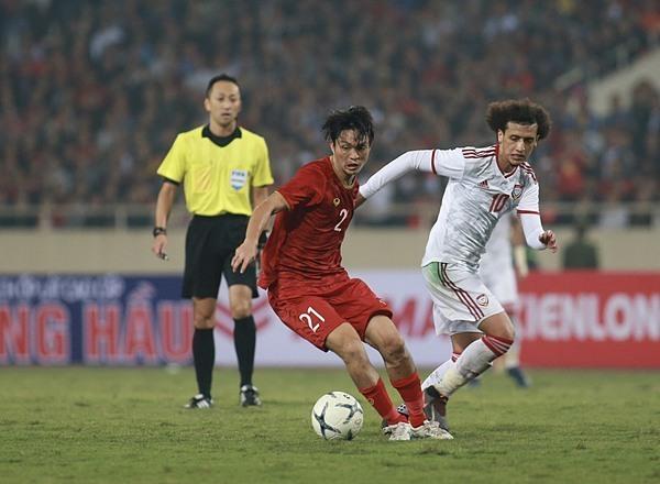 Tuấn Anh và màn trình diễn tuyệt vời trước UAE