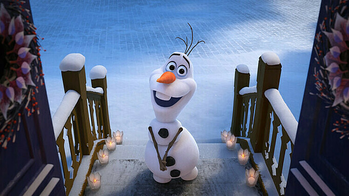 phim frozen 2 người tuyết olaf