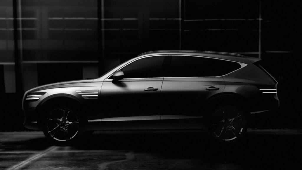 giá xe ô tô Genesis GV80 2021