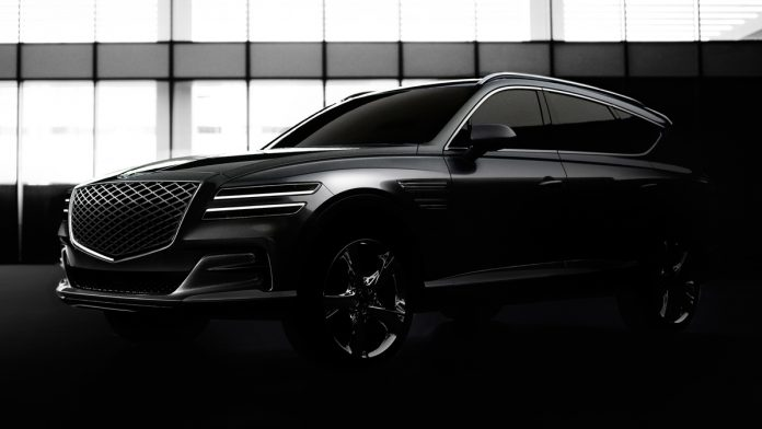 xe ô tô Genesis GV80 2021