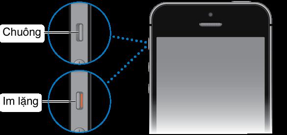 Sửa lỗi điện thoại iPhone không đổ chuông