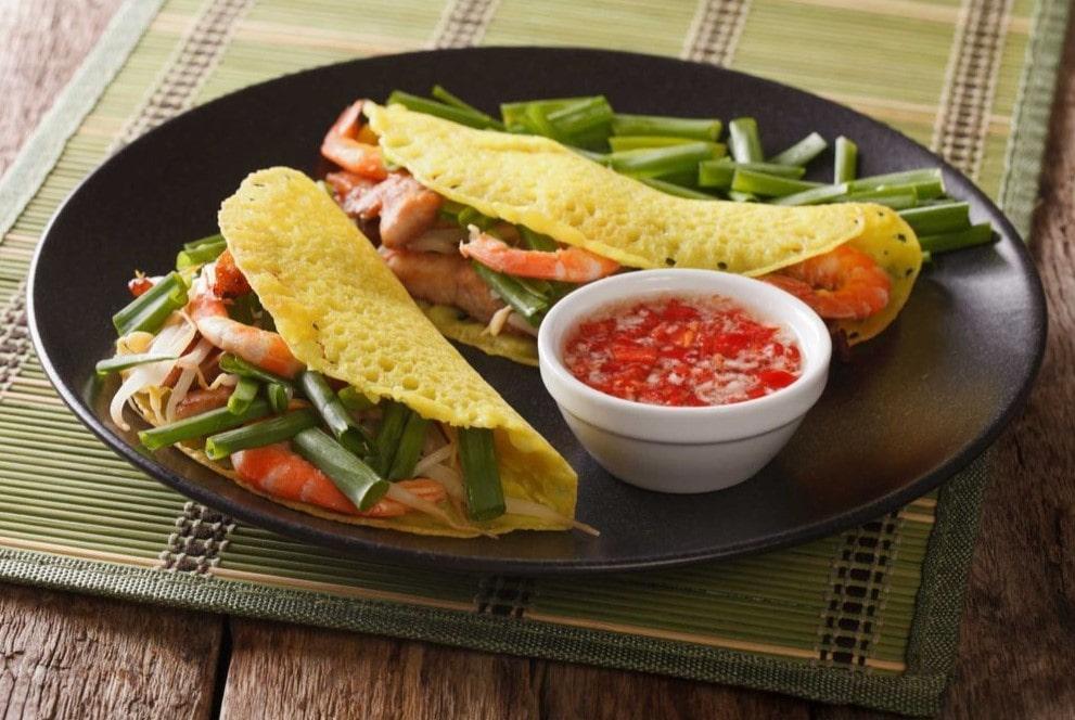 Món ăn Việt bánh xèo