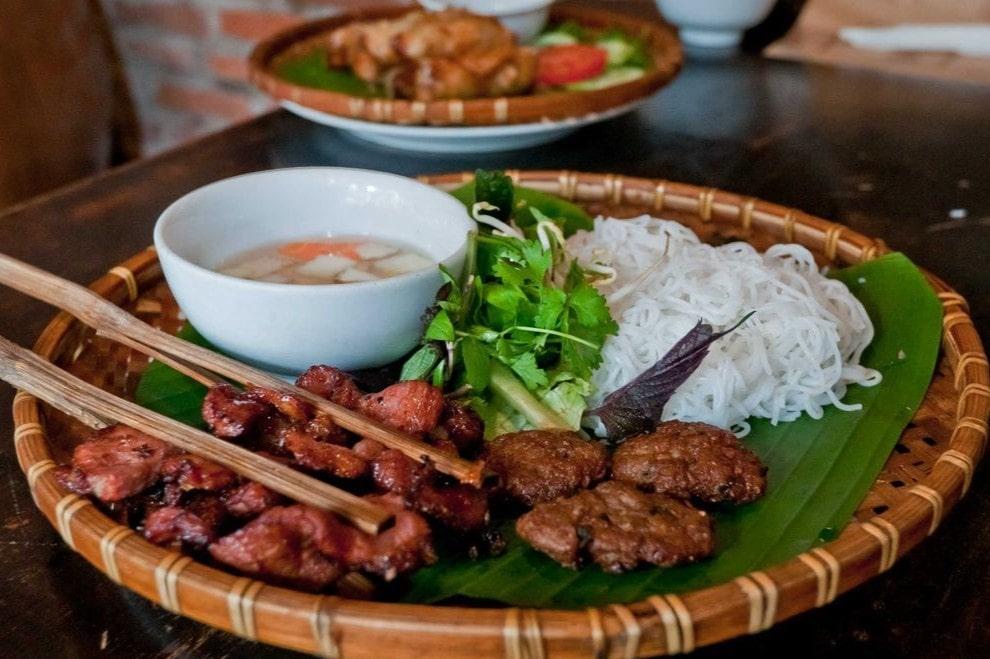 Món ăn Việt Bún chả