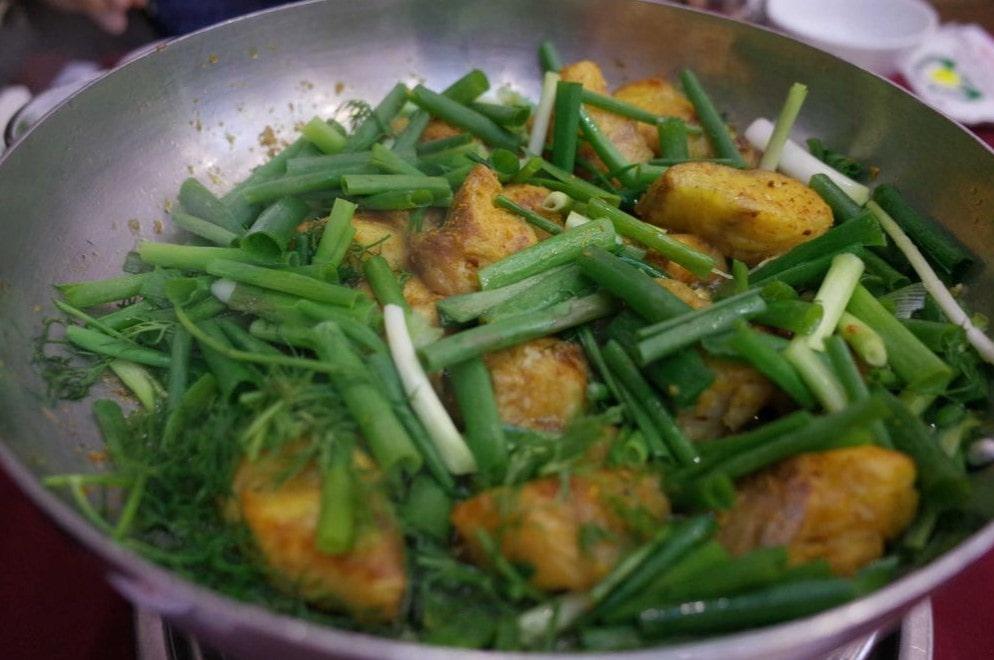 Món ăn Việt Chả cá
