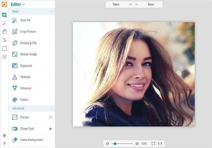 Phần mềm chỉnh sửa ảnh online IPICCY