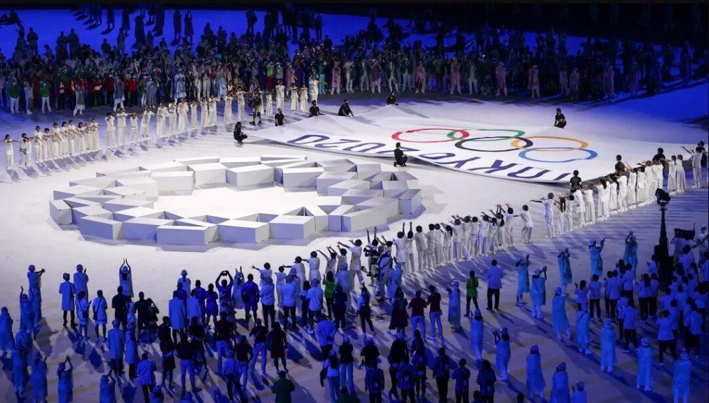 Khoảnh khắc lễ khai mạc Olympic Tokyo 2021