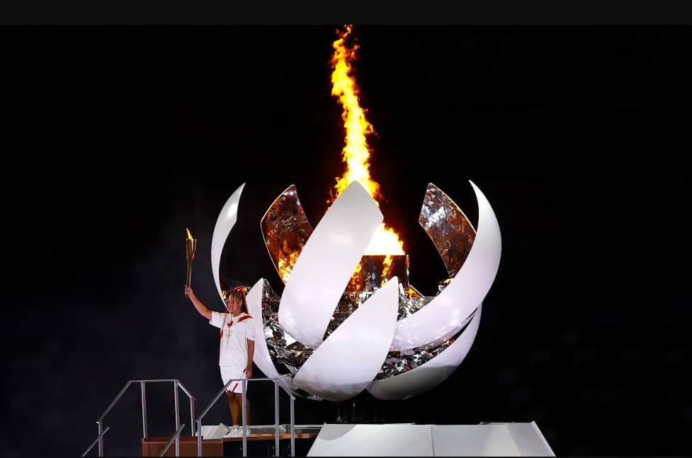 Khoảnh khắc lễ khai mạc Olympic Tokyo 2020