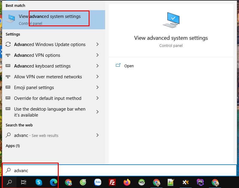 Tăng tốc Windows 10 bằng cách tăng RAM ảo